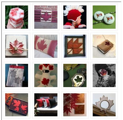 Happy Birthday Canada!!!! Pay tribute with this O'Canada Etsy treasury