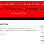 So You Wanna Start a Blog