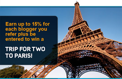 A Trip for Two to Paris and Get Paid