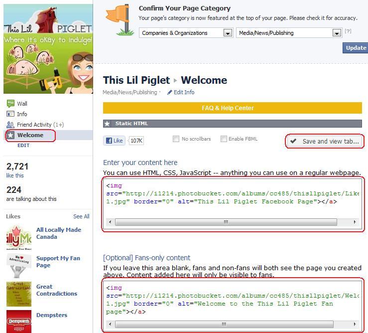 Facebook Landing Page Tutorial
