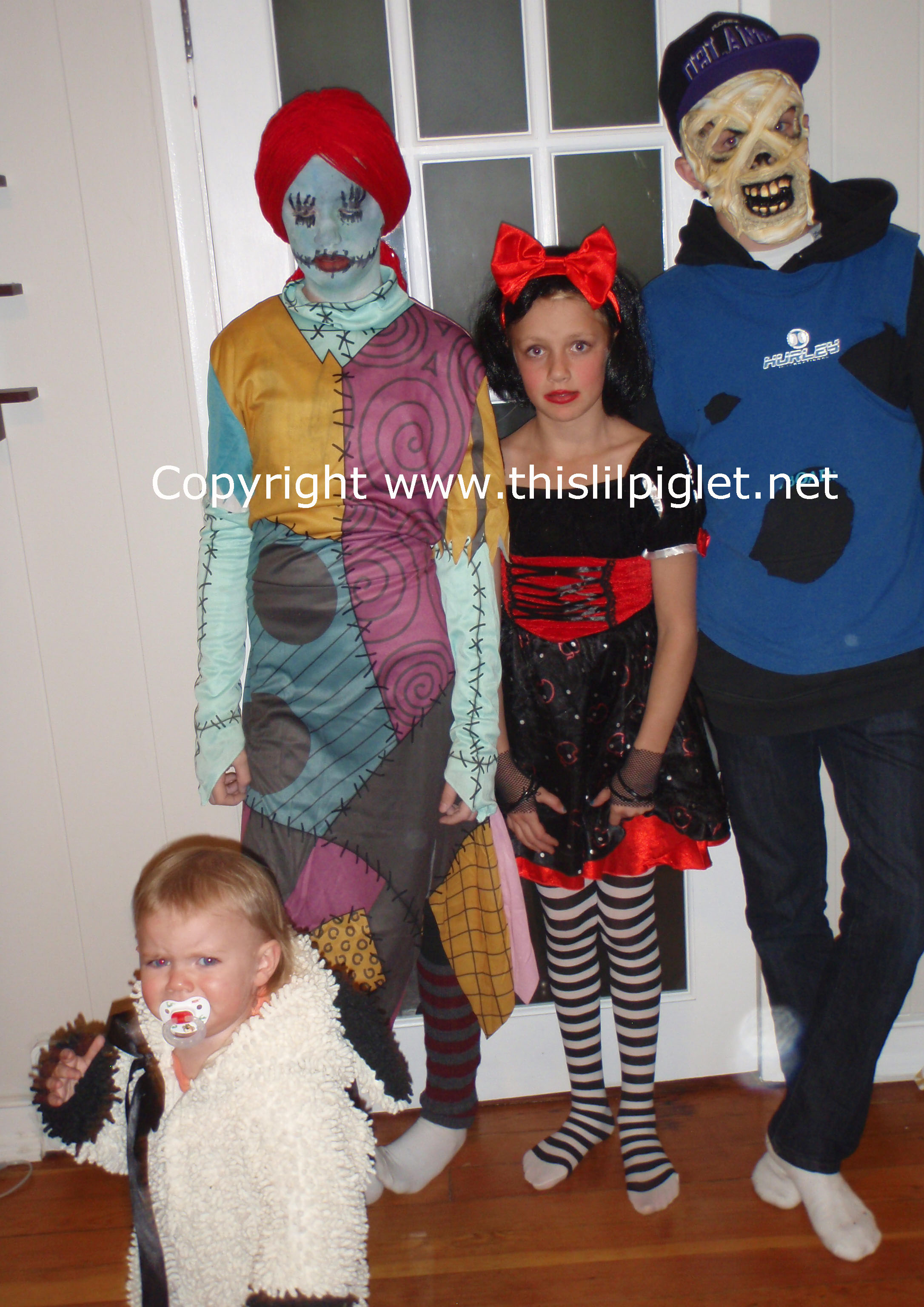 Happy Halloween from my 4 Ghouls