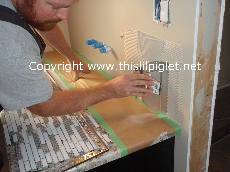 How to Install Backsplash DIY