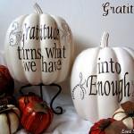 DIY Thanksgiving Decoration Tutorials