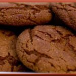 Chewy Ginger Snaps Cookies