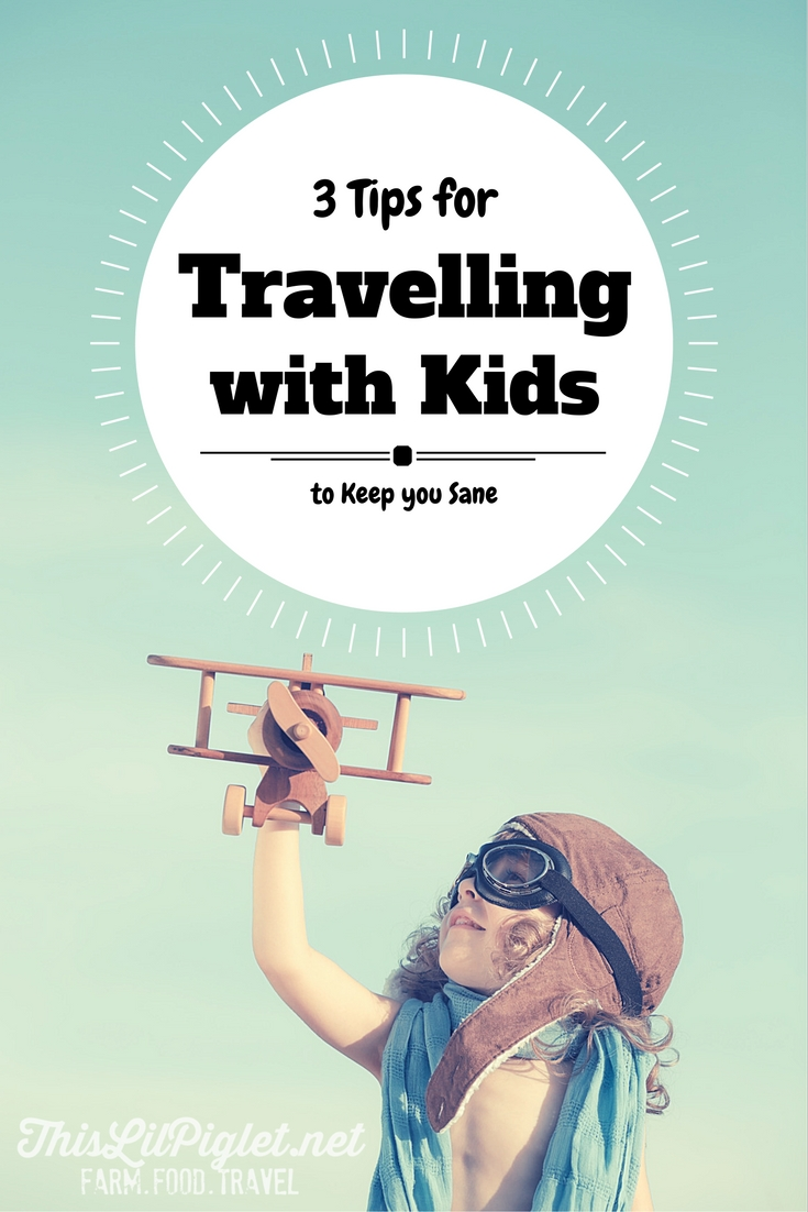 3 Tips for Travelling with Kids to Keep You Sane // thislilpiglet.net