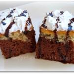 Banana Chocolate Drizzle Cake