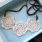 DIY Lace Necklace Tutorial