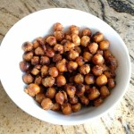 Sweet Salty Crusted Chickpeas