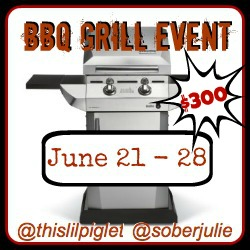 BBQ Grill Give it Away Event Blogger Sign Up