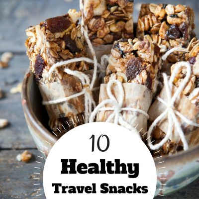 10 Healthy Travel Snacks for Kids