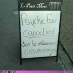 Psychics Unforeseen Circumstances