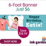 6 Foot Banner $6 Graduation, Birthdays and More