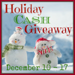 125 Holiday Cash Giveaway