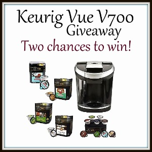 Bloggers Join the Seeing Double! Keurig Vue 700 Event