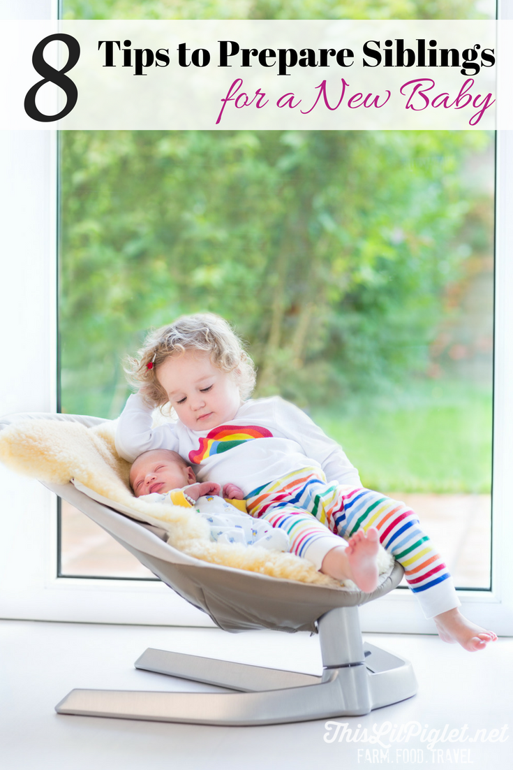 8 Tips to Prepare Siblings New Baby // thislilpiglet.net
