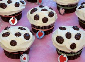 Disney Valentines Day Cupcakes