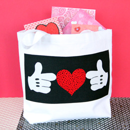 Disney Valentines Day Sewing Craft Ideas