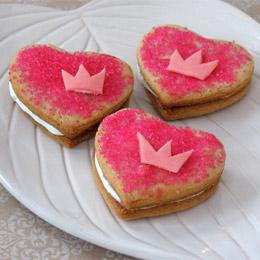Disney Valentines Cookie Treats
