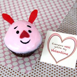 Piglet Valentines Day Treats