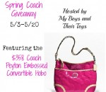 Coach Peyton Hobo Handbag Giveaway