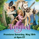 Tangled Visits Disney Junior May 18th