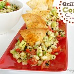 Grilled Corn Avocado Salsa