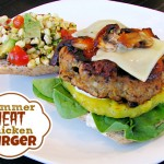 Summer Heat Chicken Burger Recipe #BreakUpWithGroundBeef