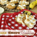 Banana S'more Cookies