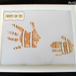 Finding Nemo Hand Print Fathers Day Gift Idea