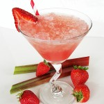 Rhubarb Slush Beverage
