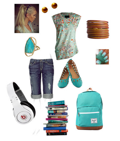 #BacktoSchool #Fashion Trends 2013