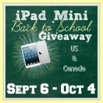 iPad Mini Back to School Giveaway US/Canada