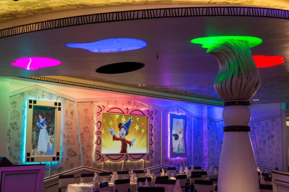 Disney Magic Restaurants