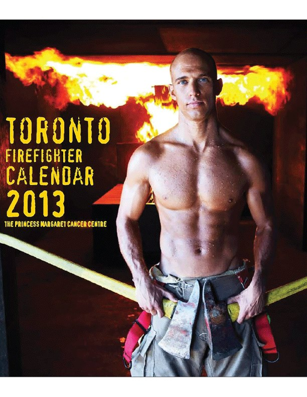 Toronto Firefighter Calendar Fashion Show National Womens Show