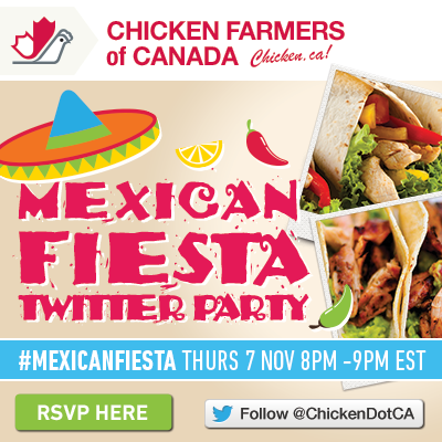 Chicken Farmers of Canada Mexican Fiesta Twitter Party