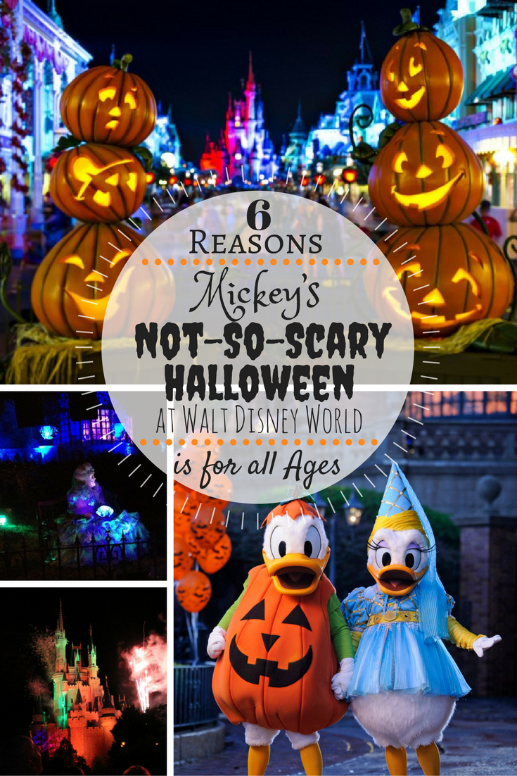 6 Reasons Mickey's Not-so-Scary Halloween at Disney's Walt Disney World is for all Ages // thislilpiglet.net