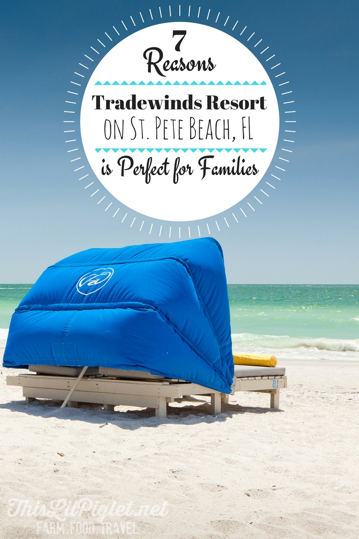 7 Reasons Tradewinds Resort on St. Pete Beach, FL is Perfect for Families // thislilpiglet.net