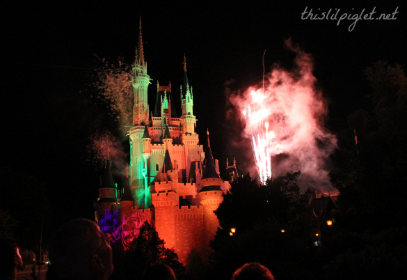 Mickeys Not So Scary Halloween 2013 Fireworks