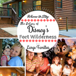 Where to Stay: The Cabins at Disney's Fort Wilderness Resort for Large Families