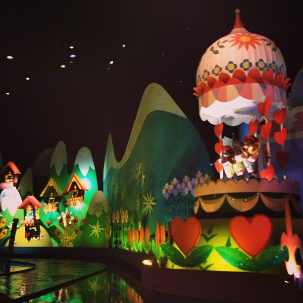 Mickeys Not So Scary Halloween 2013 Its a Small World