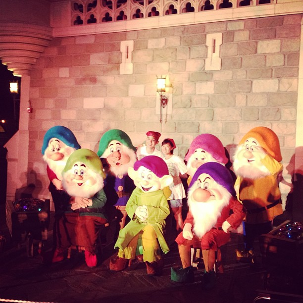 Mickeys Not So Scary Halloween 2013 Seven Dwarves