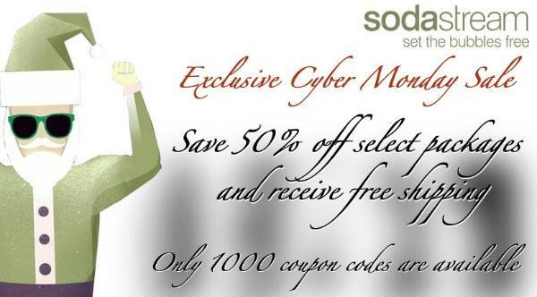 Soda Stream Cyber Monday Sale
