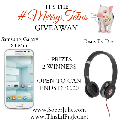 Merry Telus Beats by Dre Giveaway