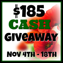 Readership Thanks Cash Giveaway