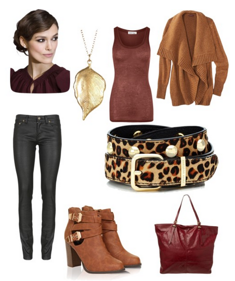 Wine in Comfort Winter Fashion Look