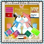 FLASH Giveaway 20 Gift Cards 24 hours December 20/13