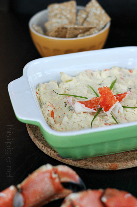 Baked Crab Dip Appetizer