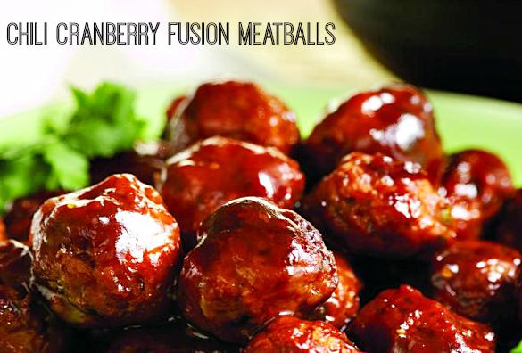 ChiliCranberryFusionMeatballs