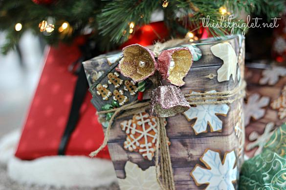 DIY Egg Carton Christmas Bells