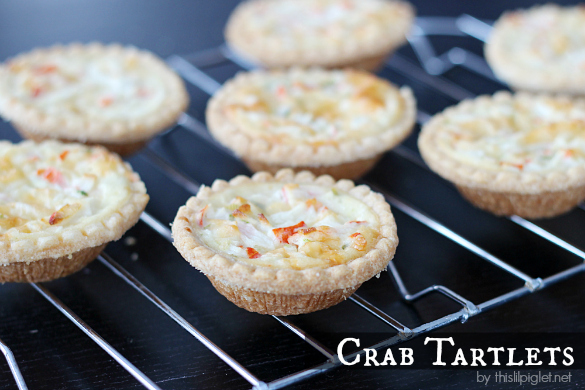 Crab Tartlets Appetizer Recipe